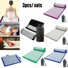 Massager Cushion Acupuncture Sets Relieve Stress Back Pain Acupressure Mat