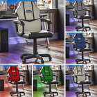 Racing Gaming Office Chair Computer Leather Executive Swivel Wheels High Back
