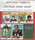 1975 TOPPS FOOTBALL YOU PICK FROM SCANS # 173 TO # 352 $1.0 USD on eBay
