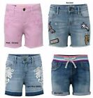 Girls Vigoss Bermuda Malibu Stretch Denim Shorts Short Pick Color