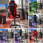 Racing Gaming Office Chair Executive Rotating Home Leather Computer Recliner