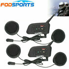 1200M Motorcycle Helmet Intercom Interphone Bluetooth Motorbike 6 Rider Headset