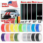 Matte Color Racing Stripes Vinyl Wrap Decal For Scion TC Sticker 10FT / 20FT $11.79 USD on eBay