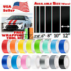 Gloss Color Racing Stripes Vinyl Wrap Decal For Scion TC Sticker 10FT / 20FT $15.99 USD on eBay