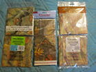 """Camo Tablecloth Tablecover 54"""" x 84"""" Disposable Multiples Choices NWT"""