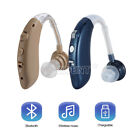 Rechargeable Audiphone Mini Hearing Aids Wireless Sound Amplifier Bluetooth