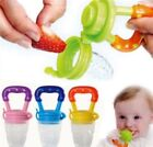 Внешний вид - Toddler Baby Food Feeding Teething Toys Pocket Fresh Fruit Feeder Nibbler DI New