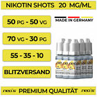 Kyпить Nikotin Shots 20mg 10 30 50 120x 10ml Shot Base für e Liquid 50/50 70/30 NEOS на еВаy.соm
