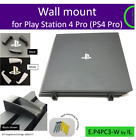 PlayStation 4 Pro (PS4 Pro) Wall mount bracket holder. Made in the UK by us.