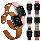 40/44mm Genuine Leather iWatch Band Strap for Apple Watch Series 5 4 3 2 38/42mm image