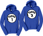 Thing 1,2,3,4,.... Couples Hoodies