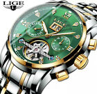 MENS DESIGNER WATCHES FOR MEN SKELETON MECHANICAL AUTOMATIC WATCH STEAMPUNK UK  <br/> LUXURY TOURBILLON WATCH -RELOGIO MASCULINO - TEVISE