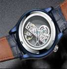 MENS DESIGNER WATCHES FOR MEN SKELETON MECHANICAL AUTOMATIC WATCH STEAMPUNK UK  image