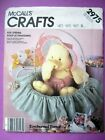 McCalls OOP Crafts Sewing Pattern Stuffed Animals Bears Birds Dolls You Choose