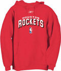 Houston Rockets Men's Red Embroidered BYOG Reebok Hoodie Sweatshirt on eBay