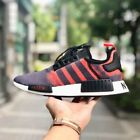 ADIDAS NMD R1 SOLAR RED BLACK G27917 MEN'S RUNNING TRAINERS 100% AUTHENTIC