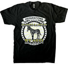 Slavery Reparations - 40 Acres And A Mule? My Ass! Men's T-shirt