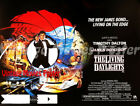 The Living Daylights 1987 Repro Reproduction Print UK Quad Movie Poster £39.99 GBP on eBay
