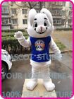 EASTER Bugs Bunny Rabbit Mascot Costume  Cartoon Character Cosplay Fancy Dress