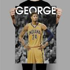 Paul George Indiana Pacers New Custom Poster Print Art Wall Decor on eBay