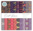 """Craft Consortium The Essentials 6""""x6"""" Premium Paper Pad - 40 Double Sided Sheets"""