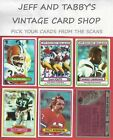 1980 TOPPS FOOTBALL 1-172 U-PICK FROM SCANS $0.99 USD on eBay