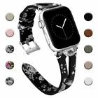 Women Genuine Leather Band for Apple Watch 38mm 40mm 42mm 44mm Series 5 4 3 2 1 image