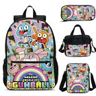 The Amazing World Of Gumball Kids Backpack Insulated Crossbody Bag Pen Case Lot