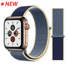 Woven Nylon Band Apple Watch Sport Loop Series 5/ 4/ 3/ 2/ 1, 44/ 42/ 40/ 38mm