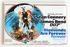 "Diamonds are Forever FRIDGE MAGNET movie poster ""style B"" james bond $5.95 USD on eBay"
