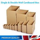 Double & Single Wall Cardboard Postal Box Parcel Shipping Packing Moving Carton