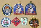 CUB SCOUT EXPO 2004, 2006, 20011. POW WOW 01-02, 2002. U.S CUSTOMS 1989 PATCHES