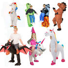 Kids Inflatable Lift Me Up Funny Scary Halloween Costume 17 Styles Sumo Fat Suit