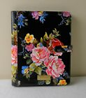 Brahmin Black Versailles Floral IPad Folding Folio Cover Case