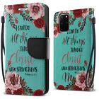 """For Samsung Galaxy S20+ Plus 6.7"""" Luxury Flip Card Slot Wallet Pouch Case Cover"""