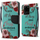 """For Samsung Galaxy S20 Ultra 6.9"""" Luxury Flip Card Slot Wallet Pouch Case Cover"""