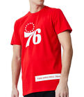 Philadelphia 76Ers New Era NBA Block Wordmark Red TShirt on eBay