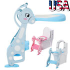 Kids Potty Training Seat w/ Step Stool Ladder for Child Toddler Toilet Chair NEW image