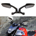 BLACK MOTORCYCLE REAR VIEW SIDE MIRRORS 10MM For Suzuki DRZ400 DRZ400SM DR200SE $19.15 USD on eBay
