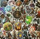 World Of Warcraft Stickers Wow Gamer Gift Decal Kids Adult Party Retro Pc Laptop
