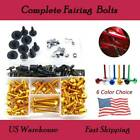 Universal Motorcycle Fairing Body Bolts Set For Triumph Daytona 650 2005 $28.99 USD on eBay
