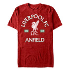 Liverpool FC 1892 Anfield Vintage Design Official Team T-Shirt - Red