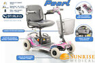 Sunrise Sterling Pearl Mobility Scooter 4mph Portable Boot New Batteries Charger