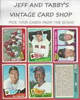 1965 TOPPS BASEBALL # 302 TO # 598 YOU PICK FROM SCANS