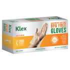 200 Heavyweight Cast Poly Disposable Medium Large M L Gloves, BPA Free