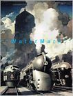 New York Central Railroad 1941 Art Deco Train Vintage Poster Print Retro Style