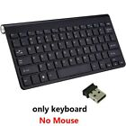 Rovtop Wireless Keyboard And Mouse Mini Multimedia Combo Set For Laptop PC TV