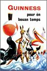 Friends At The Beach French Guinness Advertising Vintage Poster Print Retro Art