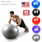 Exercise Ball 65cm for Fitness Stability Balance Yoga Workout w/Pump Anti Burst image
