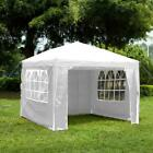 3x3m Gazebo Waterproof Outdoor Garden Tent Marquee Canopy Pop Up or Standard